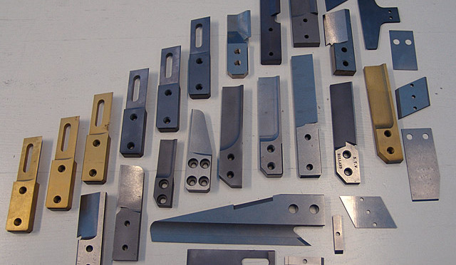 Several granules knives