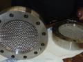 Die-plates-materiaal inconel 625 Achter aanzicht