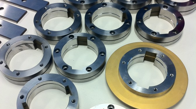 Scheidingsmessen en montage ringen voor de buizenindustrie